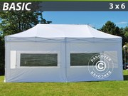 FleXtents pop up canopy 3x6 m basic set,  white