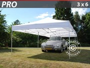Folding canopy FleXtents Pro 3x6 m,  white