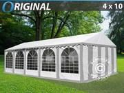 Marquee 4x10 m PVC