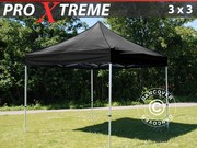 Flextents Pro Xtreme 3x3 m,  Black