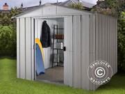 Garden shed 3, 03x3, 96x2, 02 m Silver