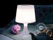 Table lamp solar power,  white LED