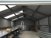 Galvanised Steel Frame Sheds