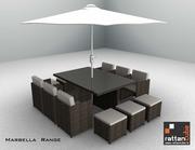 12 Seater Marbella Garden Patio set