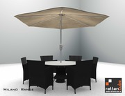 Milano Range FREE Umbrella and Base