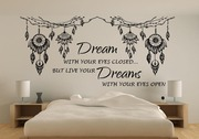Dream catcher quote wall decal
