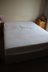 New king size bed base and mattress for sale